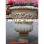 石雕公司长期供应石雕花钵水钵 景观