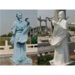 汉白玉主席像,石雕名医孙思邈,石雕鲁班,孔子像图片