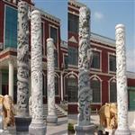 石雕华表龙柱、九龙壁价格、山东石雕