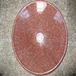 洗脸盆洗手盆石头盆石材洁具印度红