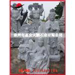 福建惠安石雕厂家供应 花岗岩石雕观音 石雕观音佛像
