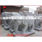 大量供应 石雕大象 花岗岩石雕大象 门口招财石象