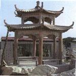 石雕凉亭寺庙雕刻石雕景观雕塑供应价格