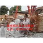 汉白玉观音生产供应|汉白玉墓碑专售