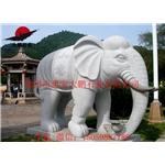 福建石雕大象 花岗岩石象专业定制 招财大象雕刻