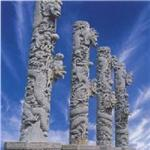 石雕盘龙柱石雕华表石雕供应商