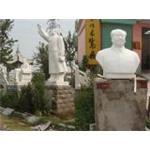 石雕校园雕塑, 石雕陶行知像,石雕张仲景,鲁班尺,孔子像,主席像