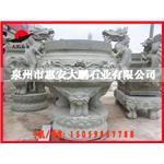 精品热销 寺庙方形香炉石雕 仿古寺