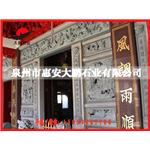 热销推荐 石雕浮雕文化墙 寺庙窗口