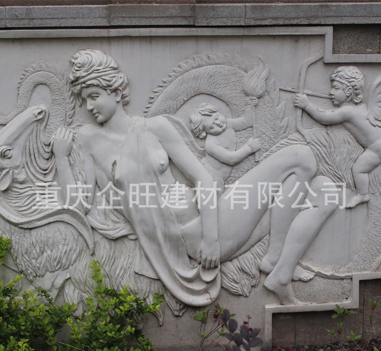厂家直销 欧式风格浮雕 人物浮雕 园林石雕浮雕 浮雕定做加工