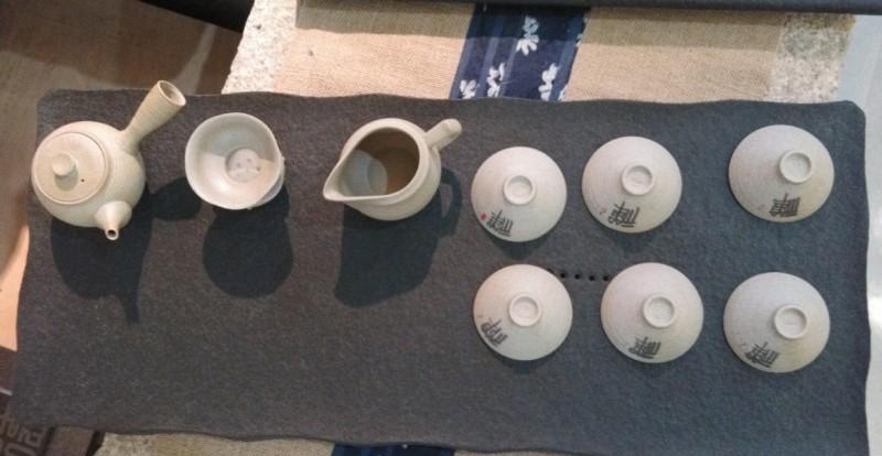 精美石雕浮雕手工石茶盘