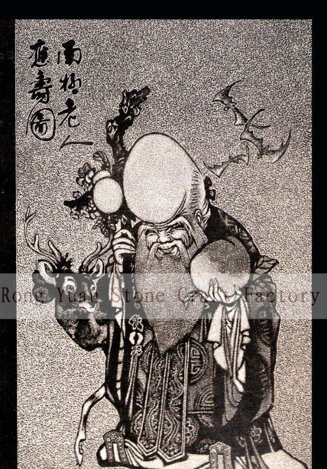 石雕影雕工艺定制,黑白影雕,彩色影雕-13