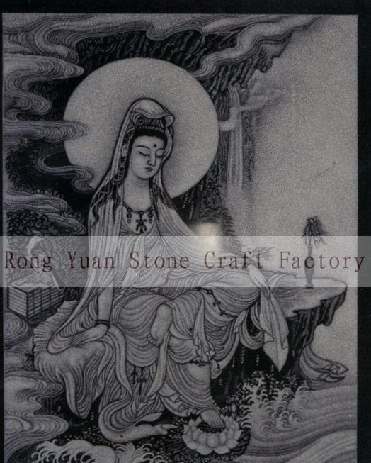石雕影雕工艺定制,黑白影雕,彩色