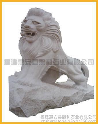 石雕狮子厂家 惠安