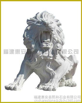 1.5米现货石雕狮子