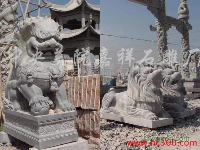 供应厚德各种型号石狮子:港狮,汇丰狮、港币狮