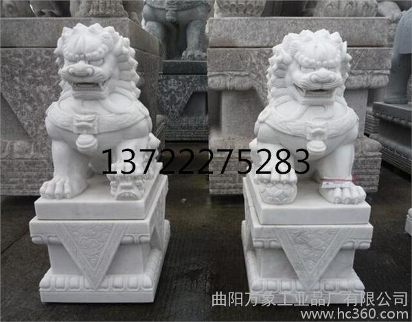供应,传统石狮子雕刻,曲阳石狮子,白石狮子
