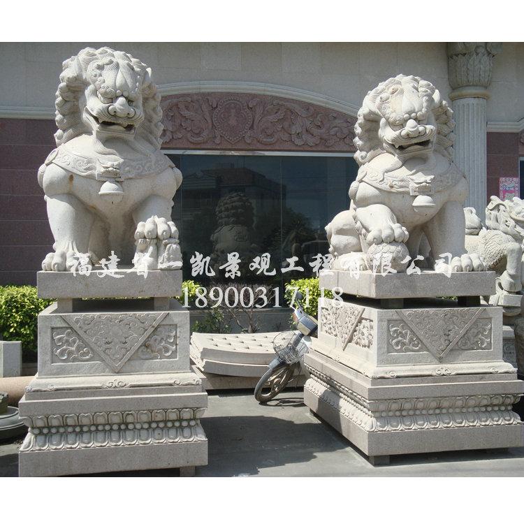 供应石雕狮子 花岗岩狮子 石狮子 献钱狮 惠安石雕厂