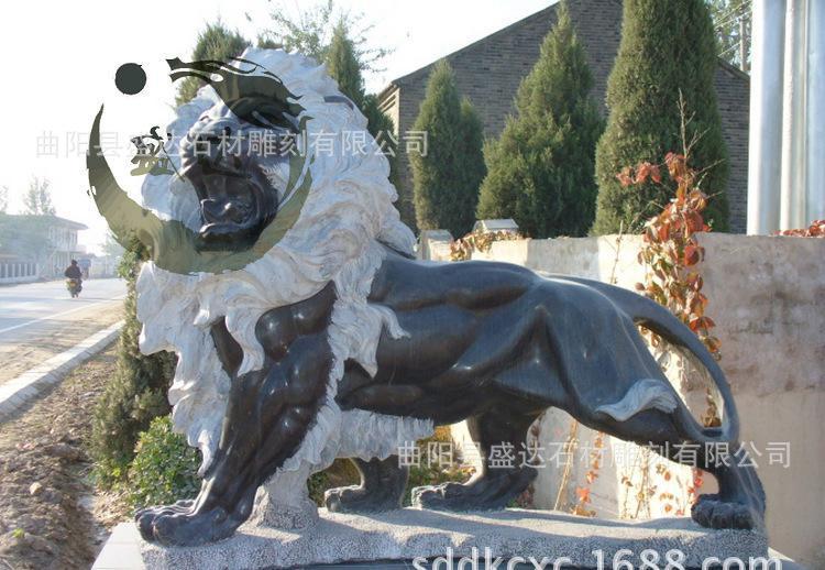 专业 仿古石雕 石雕狮子 动物石雕 石雕貔貅 石雕定做