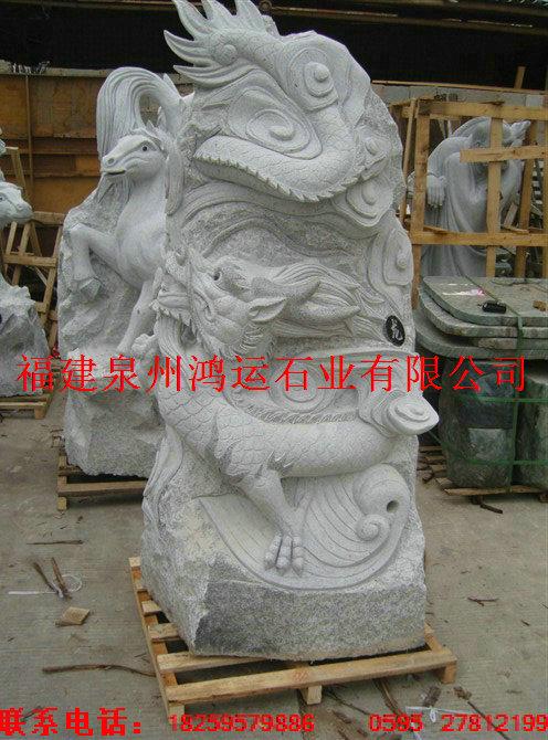 供应石雕十二生肖,石雕龙