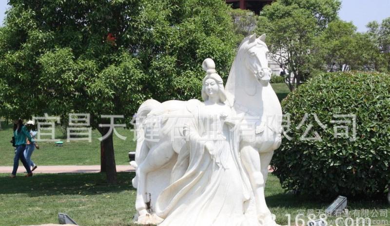 厂家直销景观园林动物小品雕塑 公园绿化装饰石雕马 石白天鹅