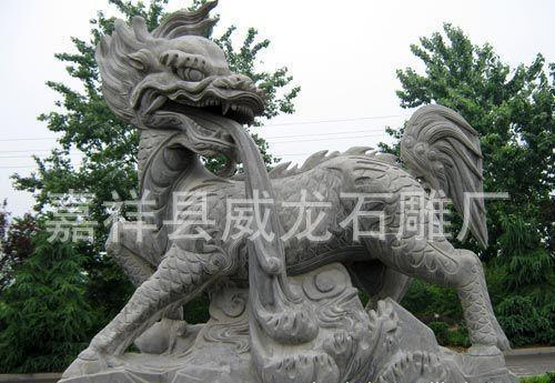 石雕厂家动物石雕 十二生肖石雕 动物雕刻 来图定制