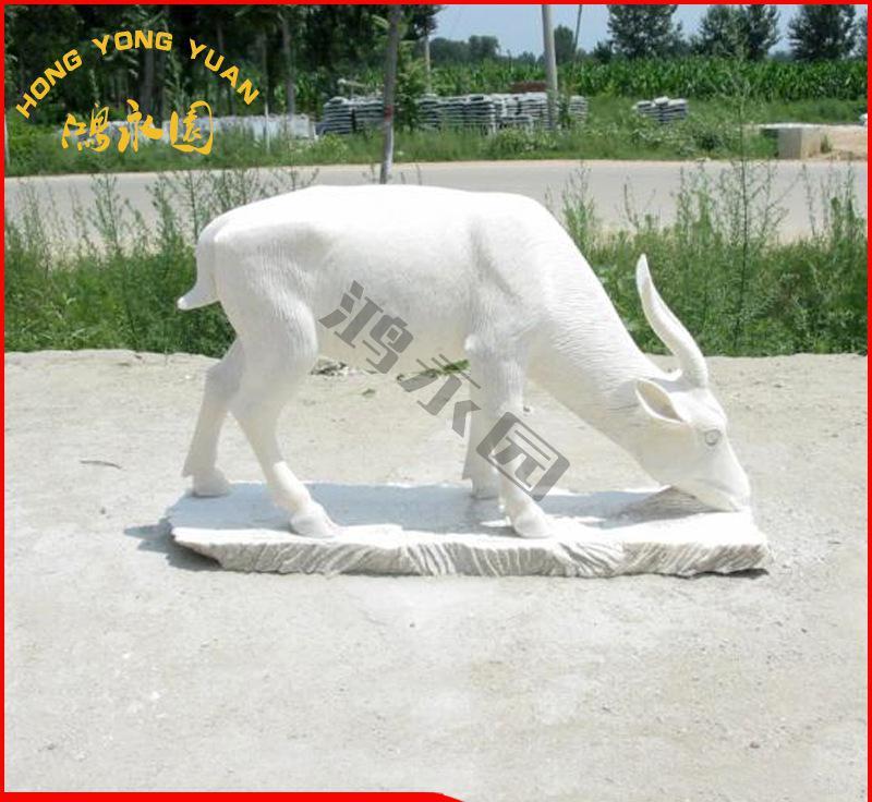 厂家景观雕塑 石雕十二生肖羊 手工制作质量保证 值得信赖