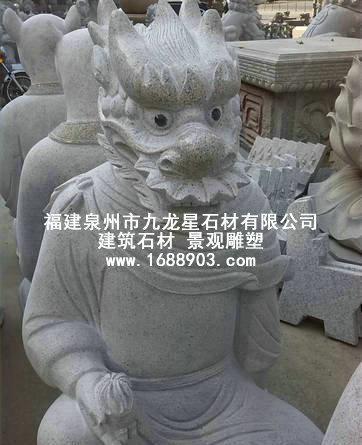 石雕十二生肖,园林十二生肖摆件,石雕动物,动物雕刻