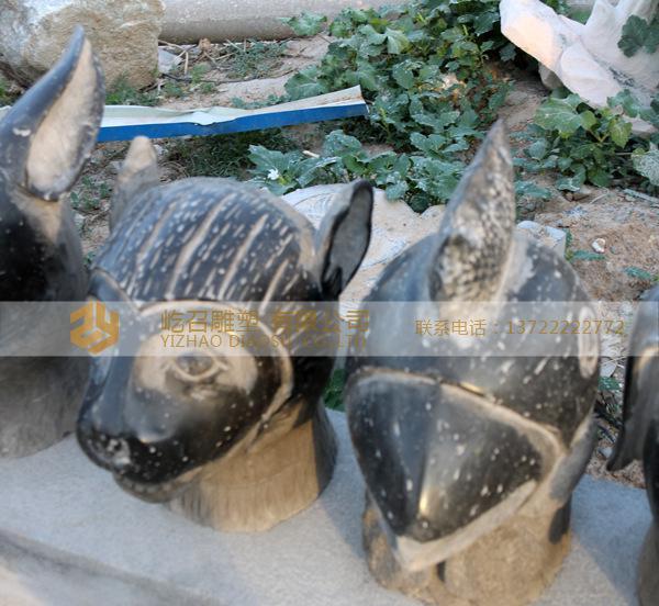 厂家直销 人物 动物石雕 十二生肖仿古石雕 加工定做