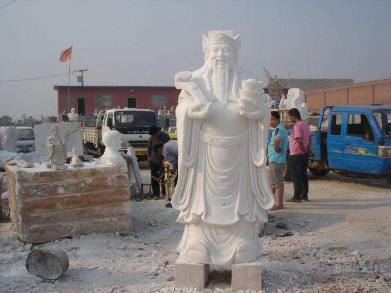 供应河北名人  石雕财神,观音佛像