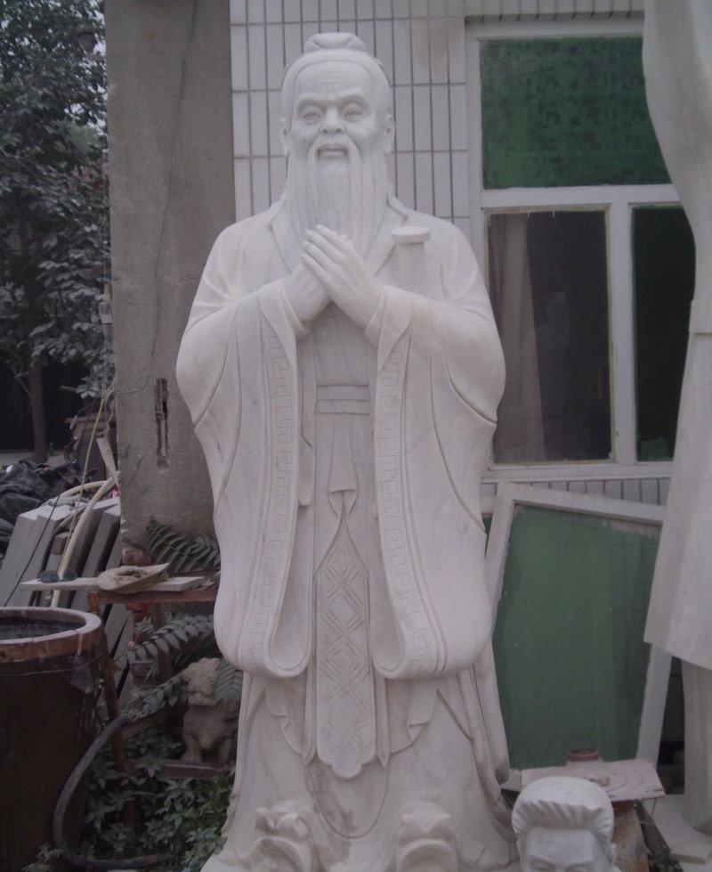 长期 现代古代人物雕刻 曲阳人像石雕定做