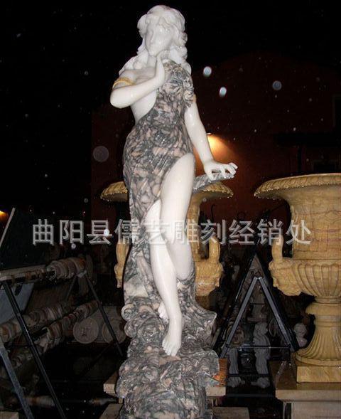曲阳县儒艺雕刻厂家直销加工定做精品欧式西方人物雕刻