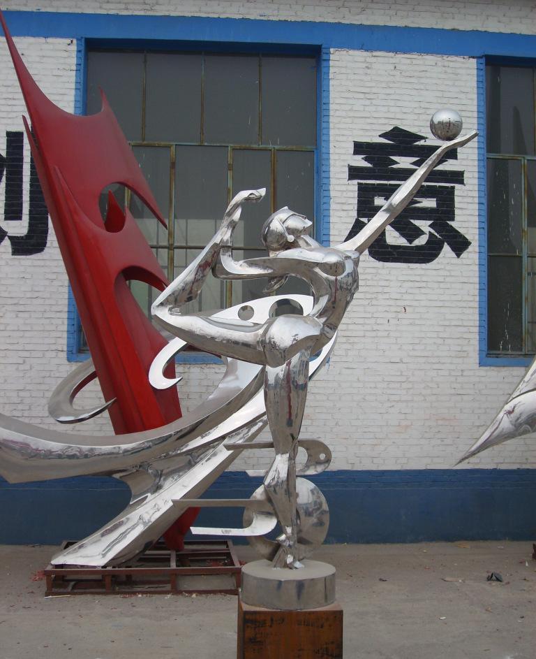 不锈钢雕塑   西方