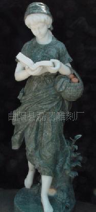 长期拼色西方人物雕刻,精致雕刻的欧式人物,全国最低价