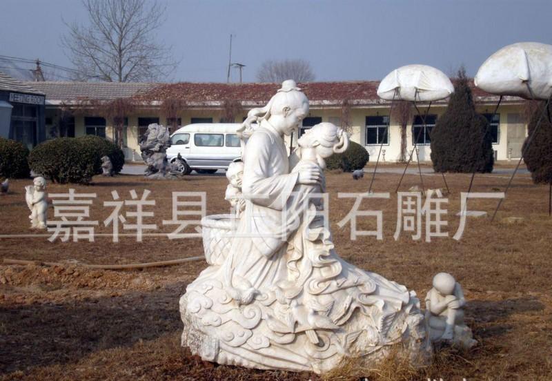 各种石材雕刻的人物雕塑  古代人物  伟人像   西方人物