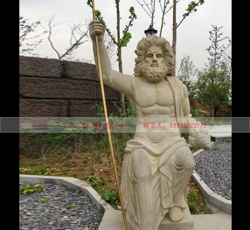 厂家直销 石雕欧式人物雕刻 花岗岩 西方人物雕塑