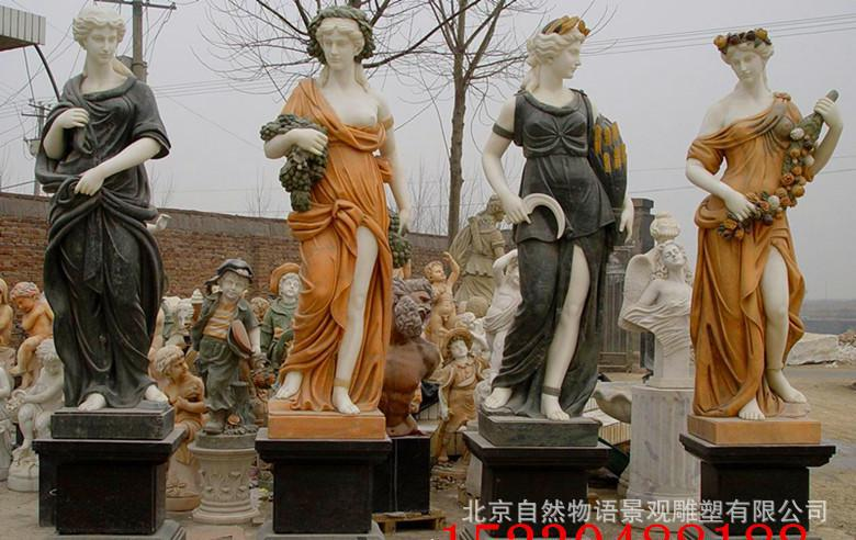 精品人物雕刻  西方人物(圣母、月亮女神等)  厂家批发定做