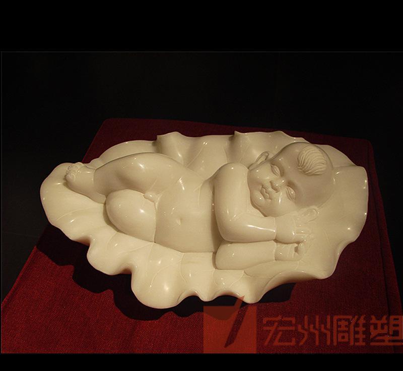 人物雕塑  西方人物雕塑  石雕工艺品 小孩雕刻 宏州 曲阳