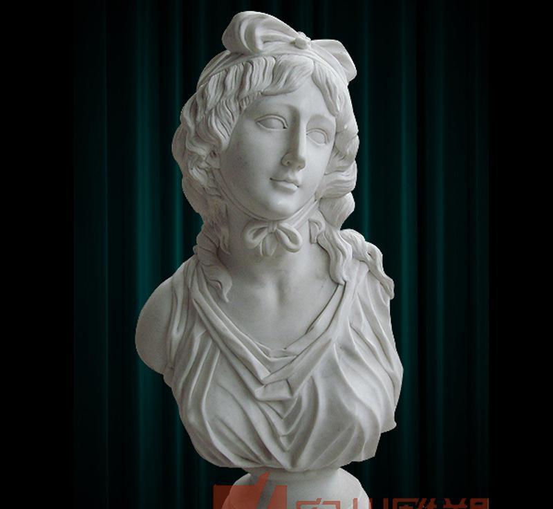 曲阳石雕 宏州 西方人物雕塑 人物胸像 石雕工艺品