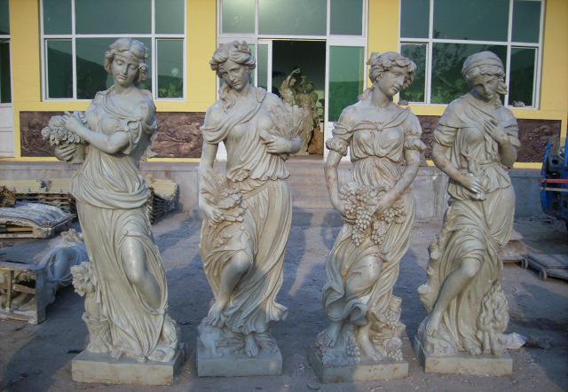 石雕人物,欧式人物雕塑,西方雕像,四季女神, 西方人物价格