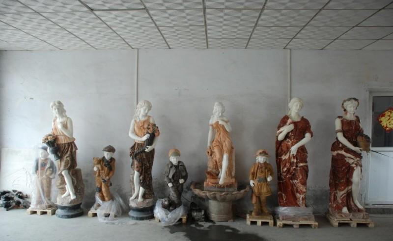 【厂家直销】东西方人物雕塑  优雅石雕东西方人物 高品质石雕