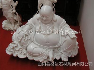 石雕弥勒佛 弥勒佛 大理石弥勒佛 汉白玉弥勒佛 观音工艺品 佛教用品 观世音像 石雕菩萨 汉白玉菩萨 石雕观世音