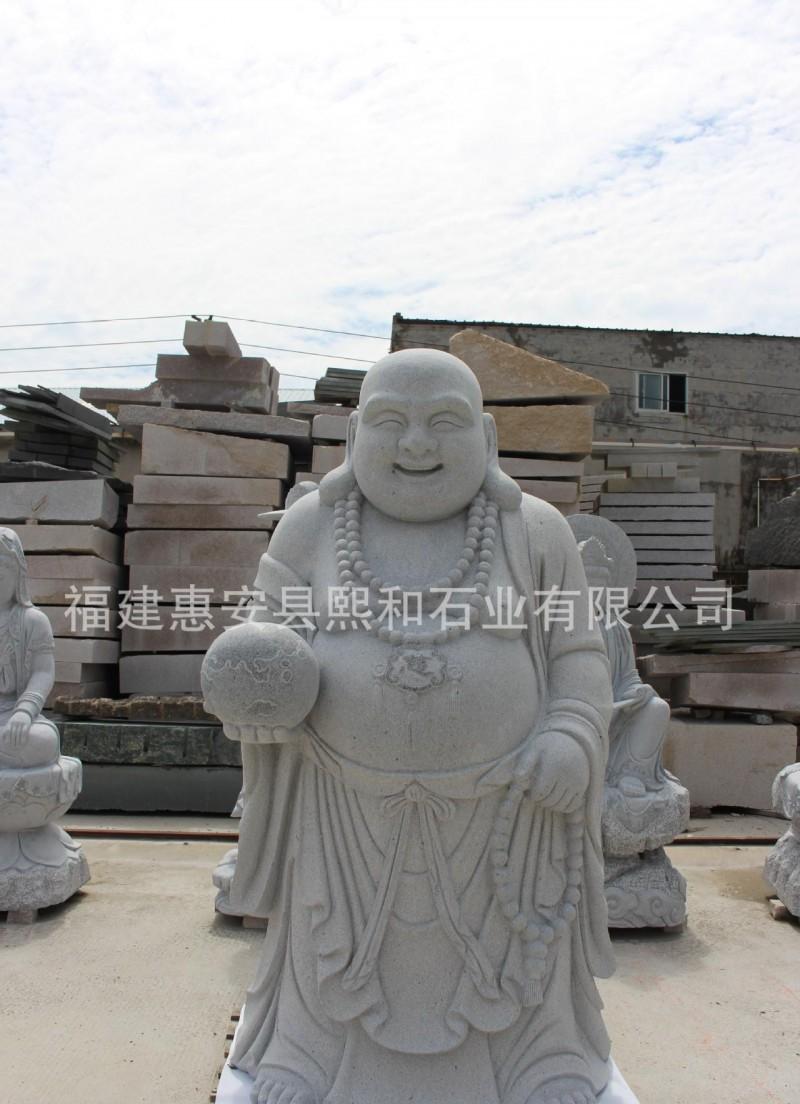 福建惠安藏传佛教饰品用品石雕弥勒佛雕刻大佛 直销