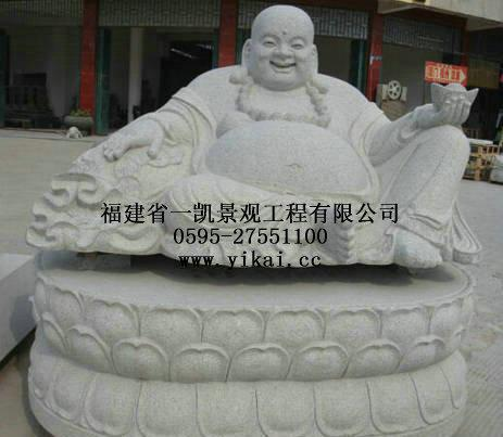 厂家专业生产石雕弥勒佛 石刻佛像 佛像石雕厂