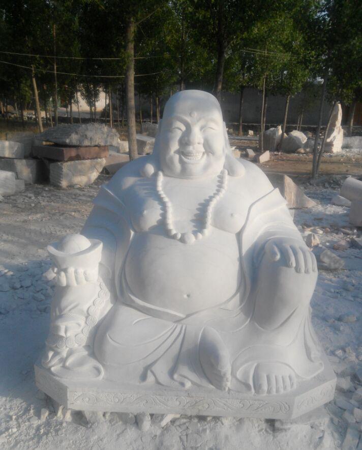石雕弥勒佛厂家 石材雕刻弥勒佛加工厂 加工定做弥勒佛雕像佛像