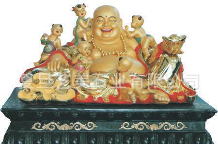 联合国命名工艺师石雕弥勒佛像石雕地藏罗汉像宗教神像观音菩萨像