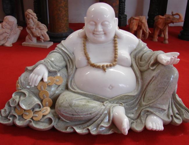 石雕弥勒佛雕塑