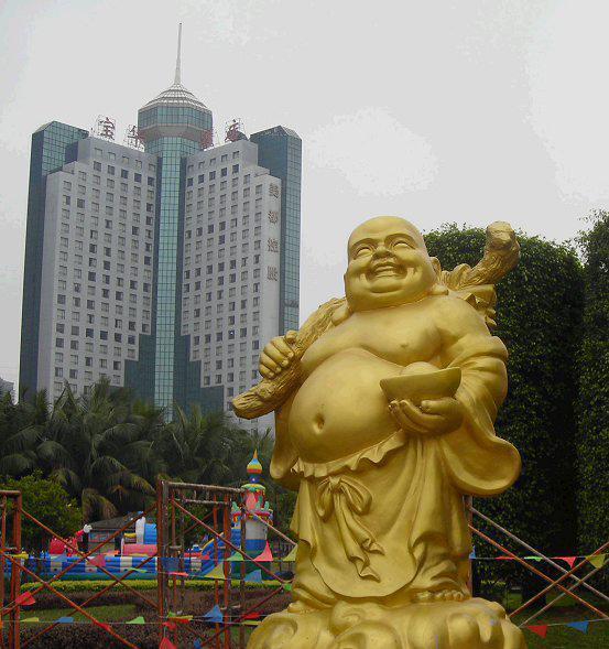 联合国命名工艺师石雕弥勒佛像观音菩萨像宗教石雕地藏罗汉像神像