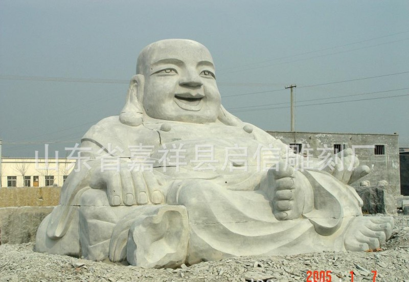 石雕弥勒佛像石雕石材石雕佛像石雕观音像十八罗汉像石雕天王像