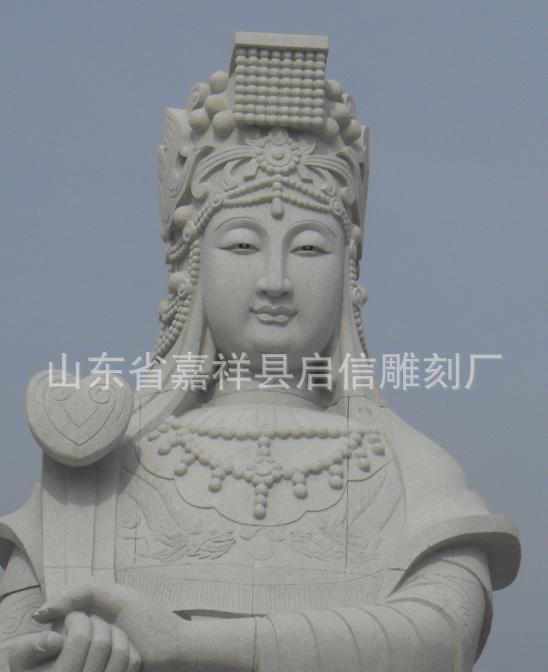 石雕观音像如意观音雕刻五百罗汉像千手观音石雕弥勒佛